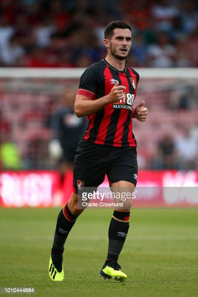 Bournemouth's Lewis Cook in action during the PreSeason Friendly match between AFC Bournemouth and Real Betis at Vitality Stadium on August 3 2018 in...