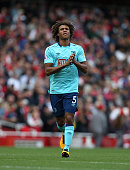 london england bournemouths nathan ake during