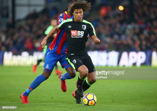 Bournemouth's Nathan Axe HOLDS OF Crystal Palace's Christian Benteke during Premier League match between Crystal Palace and AFC Bournemouth at...