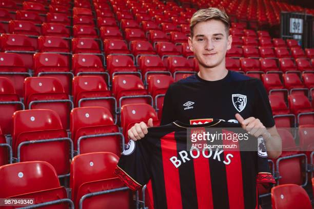 Bournemouth's new signing David Brooks at Vitality Stadium on June 30 2018 in Bournemouth England