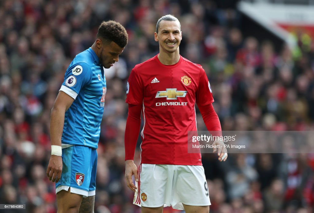 Manchester United v AFC Bournemouth - Premier League - Old Trafford : News Photo