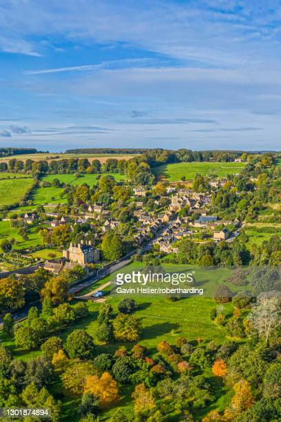 bourton on the hill, cotswolds, gloucestershire, england, united kingdom, europe - gavin hellier stock pictures, royalty-free photos & images