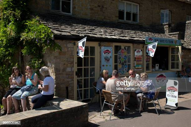 Bourton on the Water in The Cotswolds United Kingdom BourtonontheWater is known for its picturesque High Street flanked by long wide greens and the...