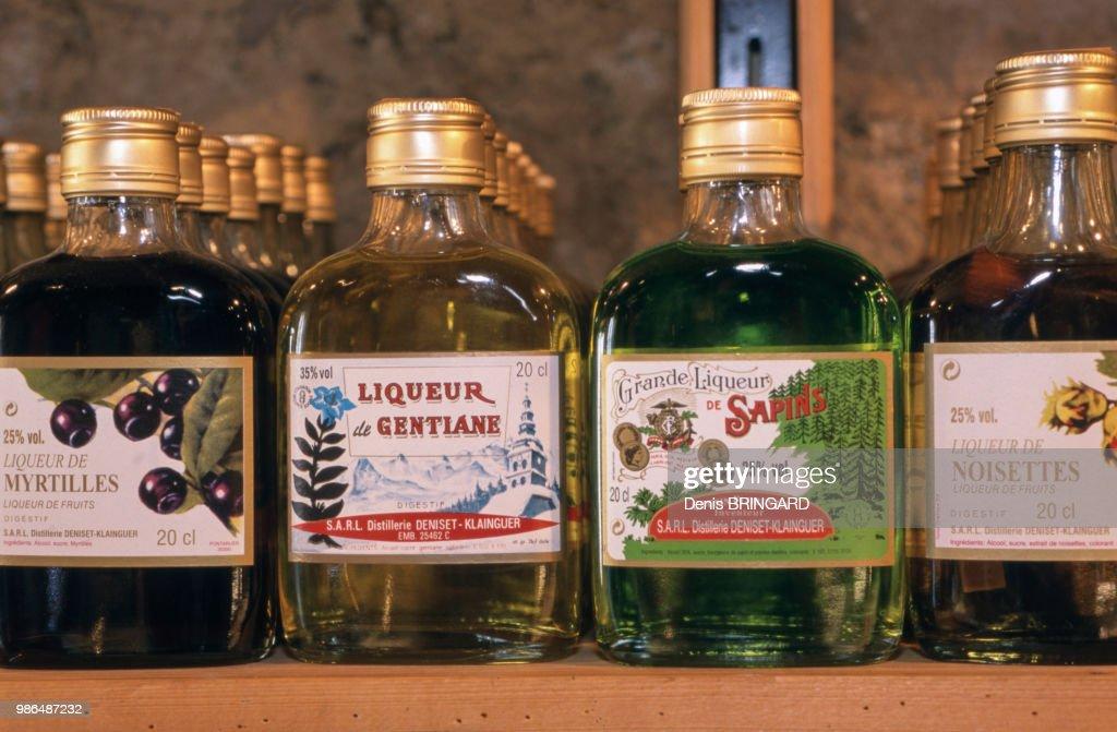Liqueurs de Bourgogne Franche-Comté : News Photo