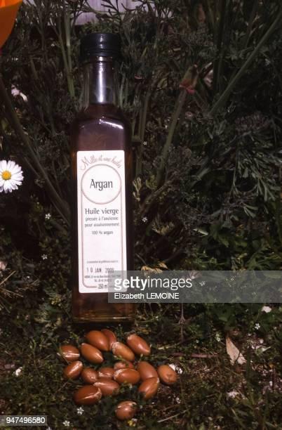 Bouteillle d'huile de noix d'argan