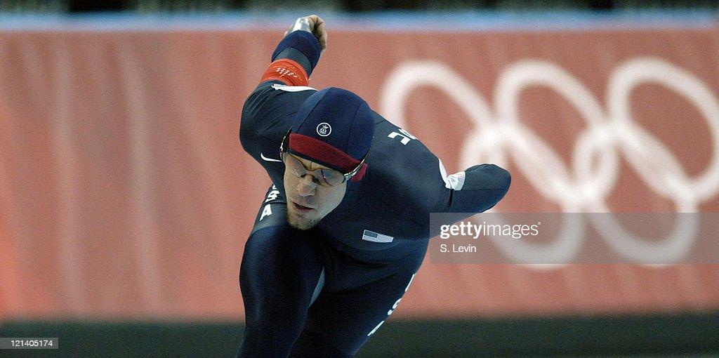Torino 2006 Olympic Games - Speed Skating - Mens 5000 M - February 11, 2006