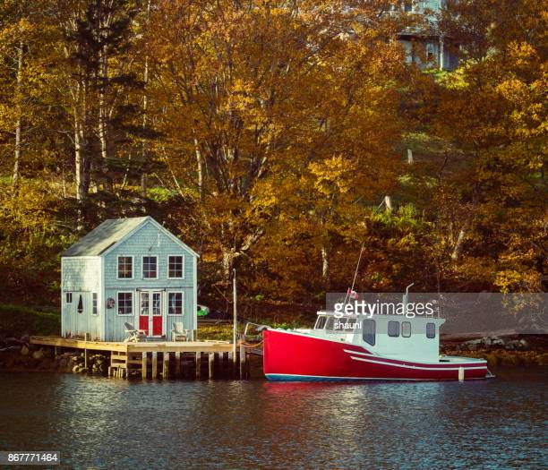 boutilier's cove - atlantic ocean stock pictures, royalty-free photos & images