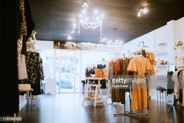 boutique clothing store - store stock pictures, royalty-free photos & images