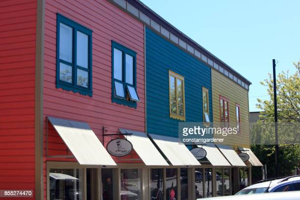 Boutique Row Small Town Ladysmith Vancouver Island