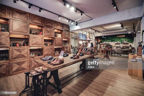 boutique shoe store - boutique stock pictures, royalty-free photos & images