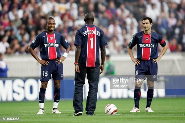 Bovanture KALOU / LAdji DOUCOURE et PAULETA Paris Saint Germain / Nice 5eme Journee de Ligue 1
