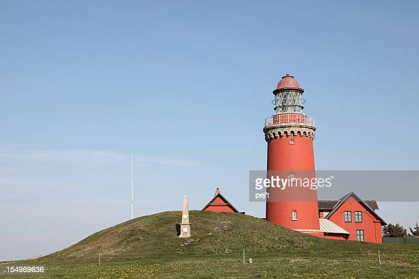 Bovbjerg Fyr Lighthouse at Jutland, Denmark