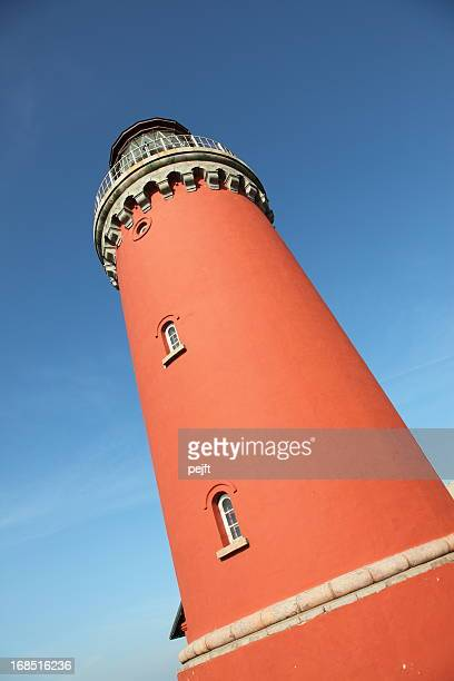 Bovbjerg Fyr Lighthouse on Jutland, Denmark