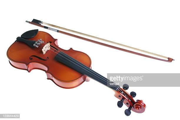 Arco y un violín