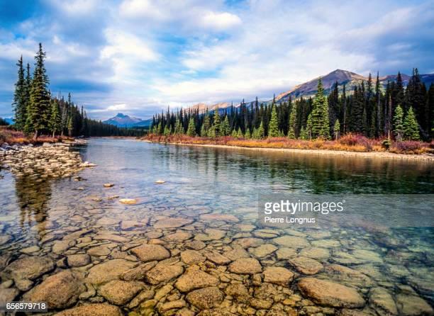 Bow River, Banff National Park, Alberta Canada