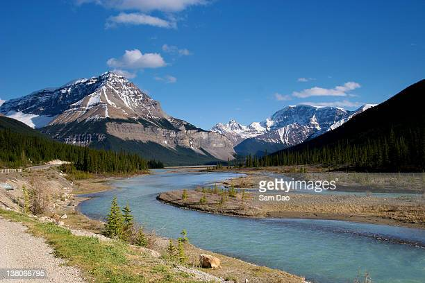 Bow river Jasper National park