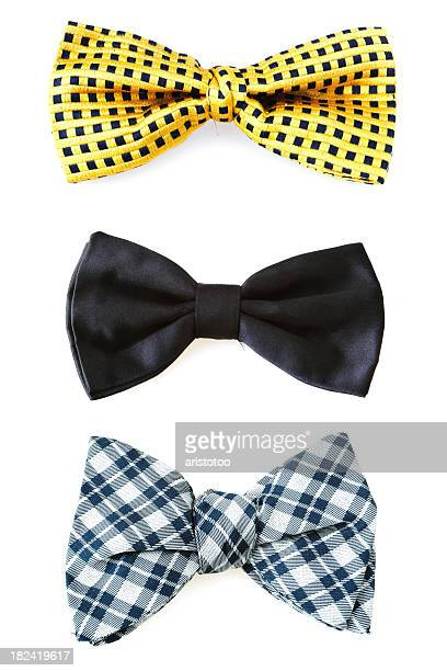 bow ties - bow tie stock pictures, royalty-free photos & images