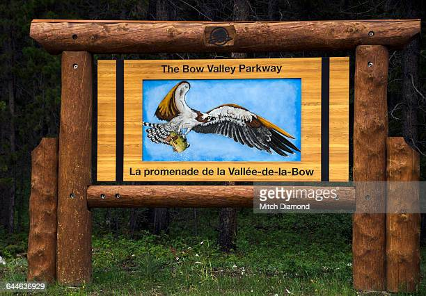 Bow Valley Parkway sign