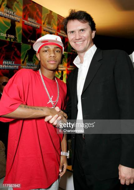 Bow Wow and Fox Searchlight's Peter Rice during FoxSearchlight Pictures Present the Los Angeles Premiere of Roll Bounce After Party at The Bridge at...