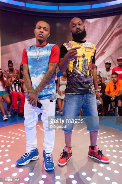 Bow Wow and Smack White visit BET's '106 Park' at BET Studios on July 3 2013 in New York City