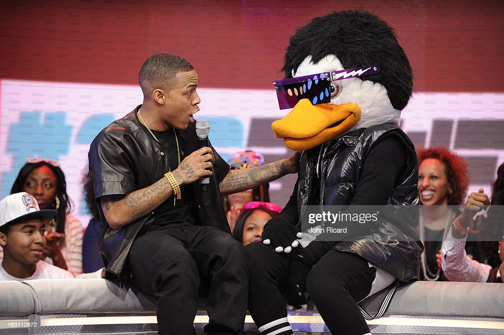 Bow Wow and Watch The Duck at BET's '106 & Park', at BET Studios on March 4, 2013 in New York City.