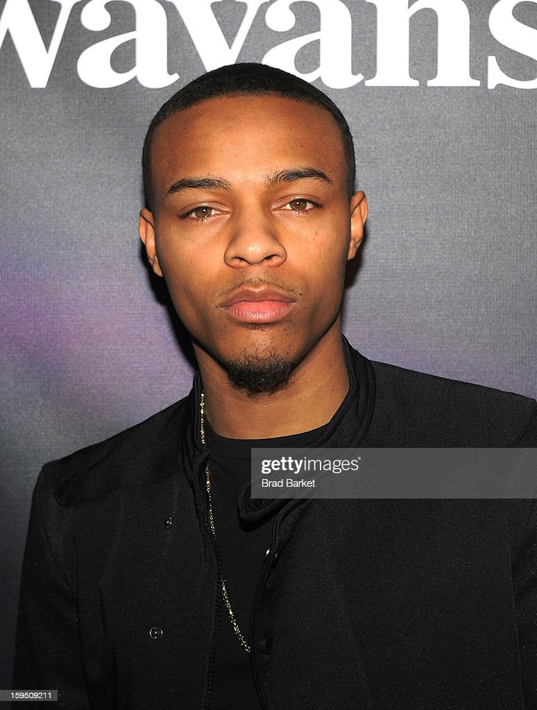 Bow Wow attends BET Networks New York Premiere Of 'Real Husbands of Hollywood' And 'Second Generation Wayans' at SVA Theater on January 14, 2013 in New York City.