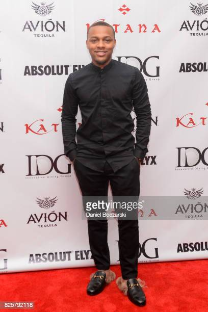 Bow Wow attends during the Katana Chicago grand opening celebration hosted by Innovative Dining Group at Katana Chicago on August 2 2017 in Chicago...
