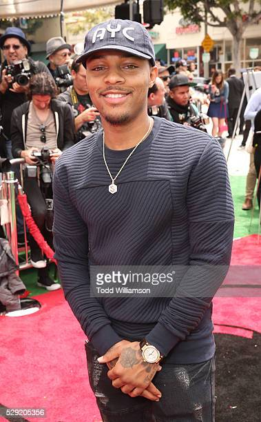 Bow Wow attends the premiere Of Sony Pictures' 'Angry Birds' at Regency Village Theatre on May 7 2016 in Westwood California