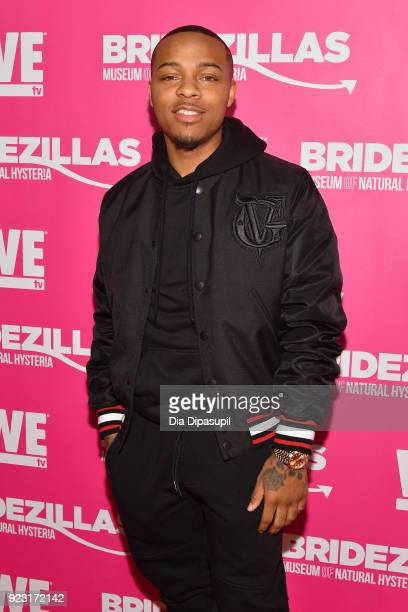 Bow Wow attends WE tv Launches Bridezillas Museum Of Natural Hysteria on February 22 2018 in New York City