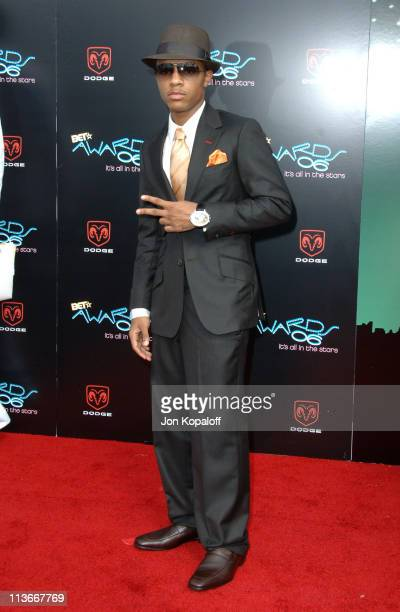 Bow Wow during 2006 BET Awards Arrivals at The Shrine in Los Angeles California United States