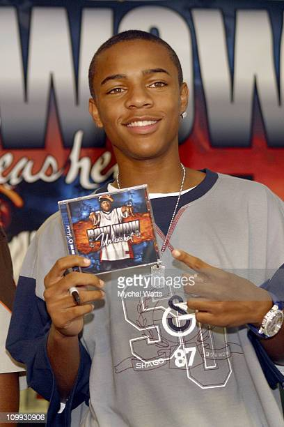 Bow Wow during Bow Wow In Store CD Signing For his latest CD Unleashed August 20 2003 at Best Buy in New York City New York United States