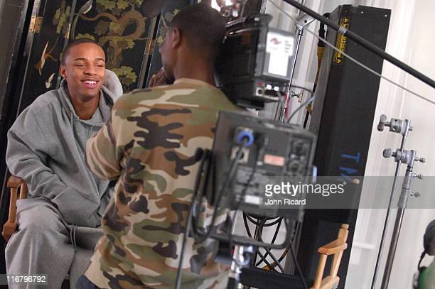 Bow Wow during Bow Wow on the Set of Outta My System Music Video Featuring TPain February 3 2007 at Metropolis Studios in Los Angeles California...