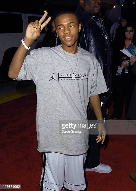 Bow Wow during NBA AllStar Game 2004 Celebrity Arrivals at Staples Center in Los Angeles CA United States