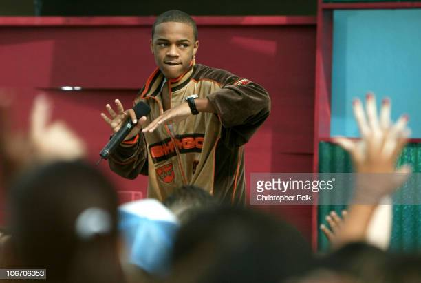 Bow Wow during Nickelodeon Celebrates Lets Just Play Campaign at Nickelodeon Studios On Sunset in Hollywood CA United States