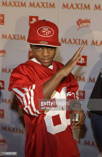 Bow Wow during The Maxim Party at Super Bowl XXXVII at The Old Wonderbread Factory in San Diego CA