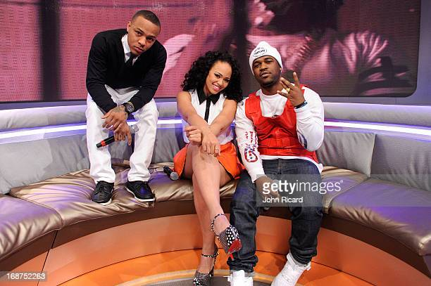 Bow Wow Elle Varner and A$AP Ferg Present 2013 BET Awards Nominations at 106 Park Studio on May 14 2013 in New York City