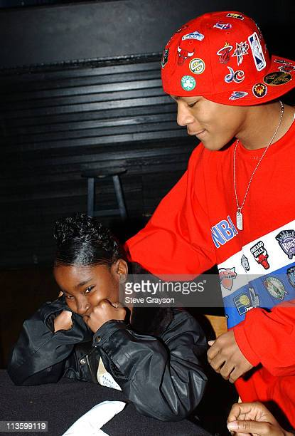 """Bow Wow greets and signs autographs for fans from the """"Make A Wish Foundation"""" who had a private dinner with him a the House Of Blues."""""""