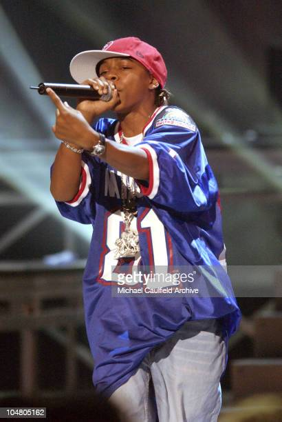 Bow Wow performing Take Ya Home during The 2nd Annual BET Awards Show at The Kodak Theater in Hollywood California United States