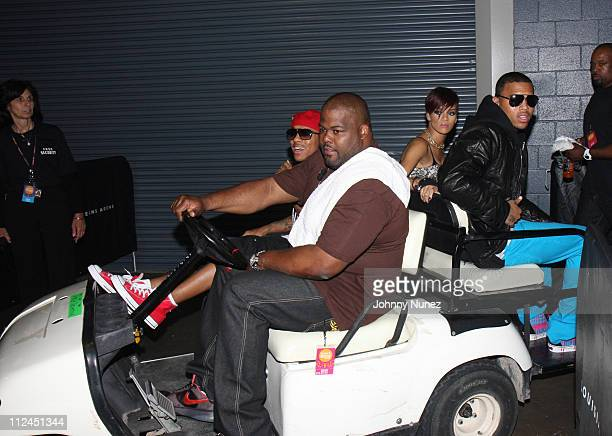 Bow Wow Rihanna and Chris Brown attend day 1 of the 2008 Essence Music Festival at the Ernest N Morial Convention Center and Louisiana Superdome on...