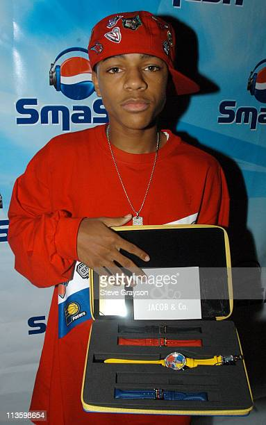 Bow Wow takes time out to pose for photographs and greet the VIP's and National Contest Winners at the House of Blues Las Vegas