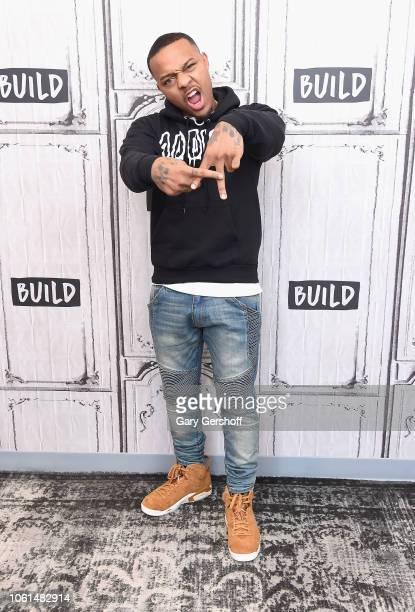Bow Wow visits Build Series to discuss the WE tv reality show 'Growing Up Hip Hop: Atlanta' at Build Studio on November 14, 2018 in New York City.