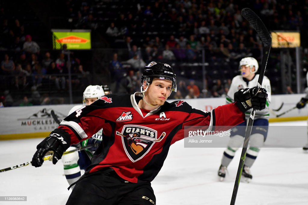 Vancouver Giants v Seattle Thunderbirds - Game Six : News Photo