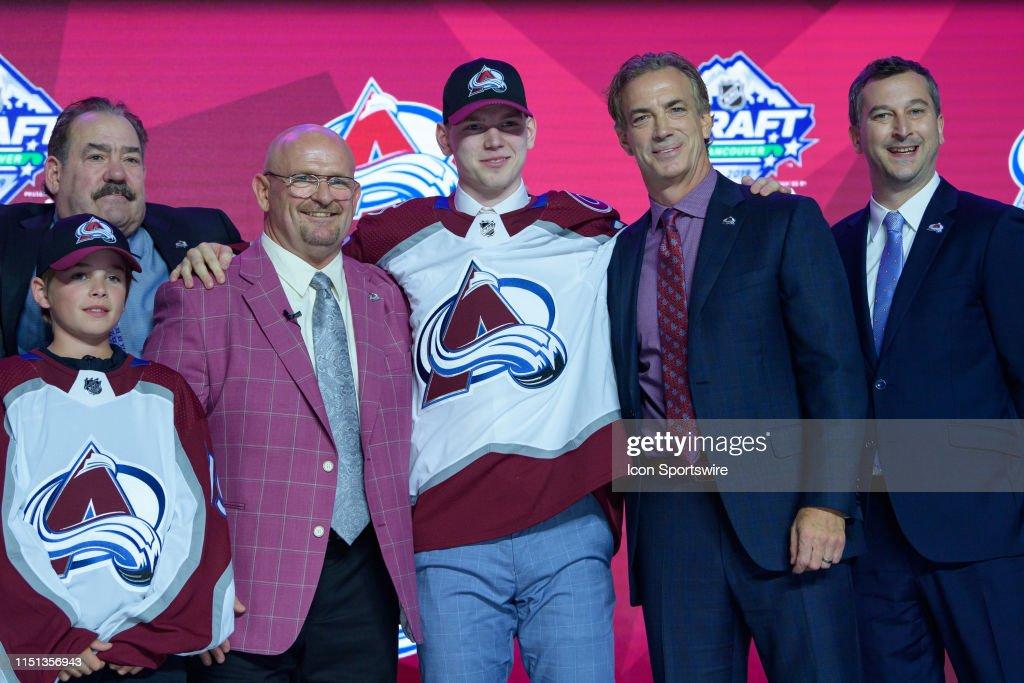 NHL: JUN 21 NHL Draft : Foto di attualità