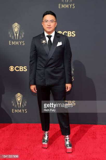 Bowen Yang attends the 73rd Primetime Emmy Awards at L.A. LIVE on September 19, 2021 in Los Angeles, California.