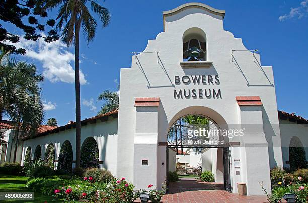bowers museum entrance - santa ana california stock pictures, royalty-free photos & images