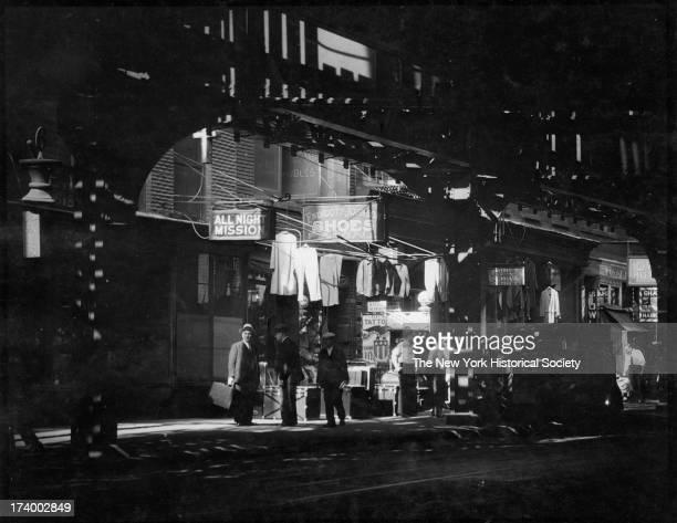 Bowery, New York, New York, 1920s.