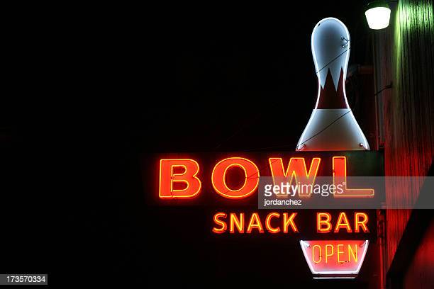 Bowl Alley Sign