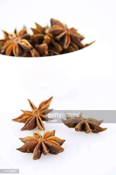 A bowl full of Star Anises