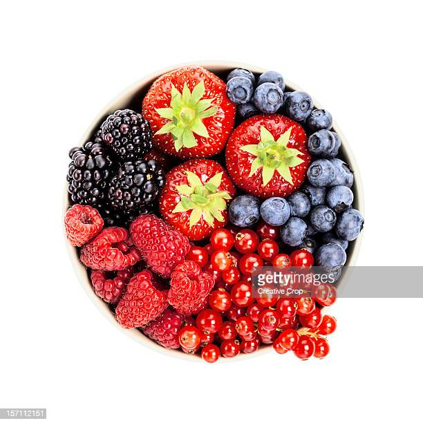Bowl of assorted berries