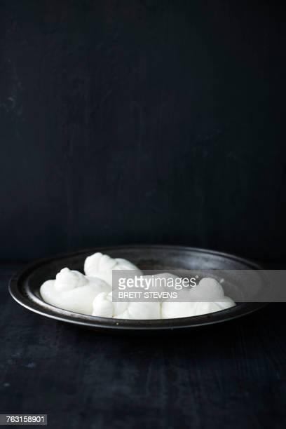 Bowl of burratta cheese